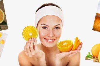 Применение масла апельсина для лица