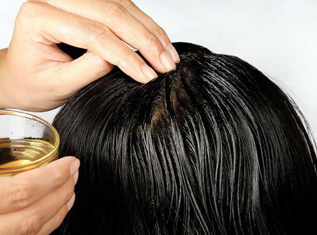 апельсиновое масло укрепляет корни волос
