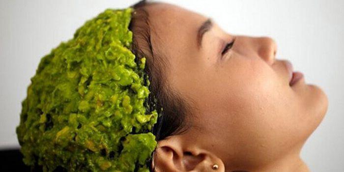 маска для волос из масла авокадо