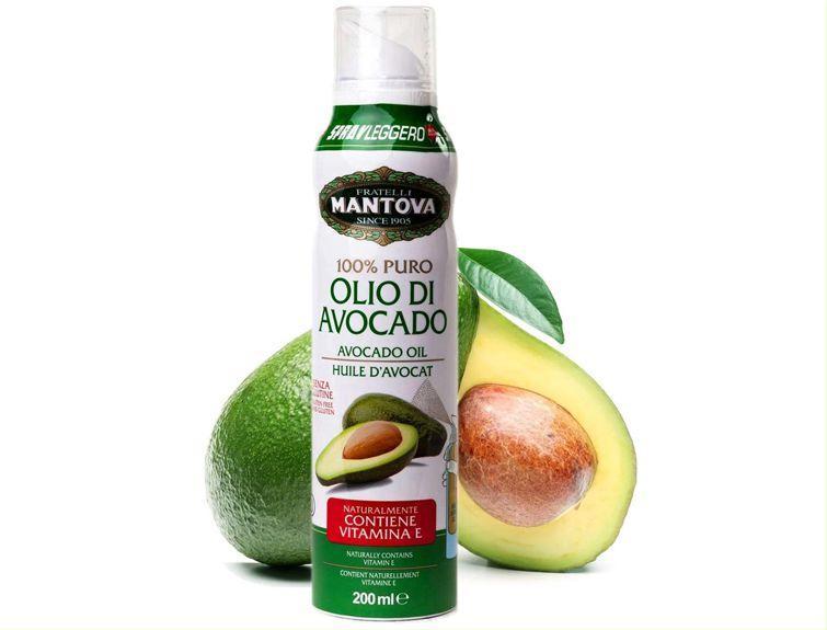 масло авокадо в форме спрея