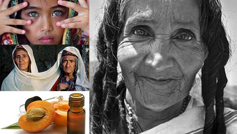 племя Хунза используют абрикосовое масло для волос