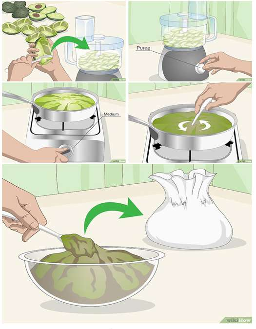 приготовление масла авокадо