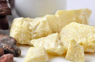 Как приготовить масло какао