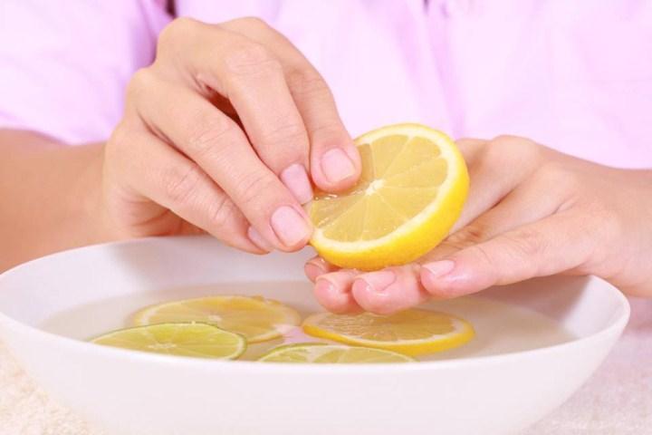 Масло лимона для рук