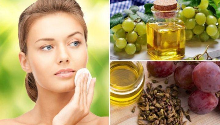 Виноградное масло для кожи вокруг глаз
