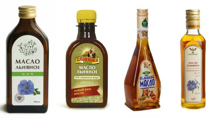 Как выбирать льняное масло