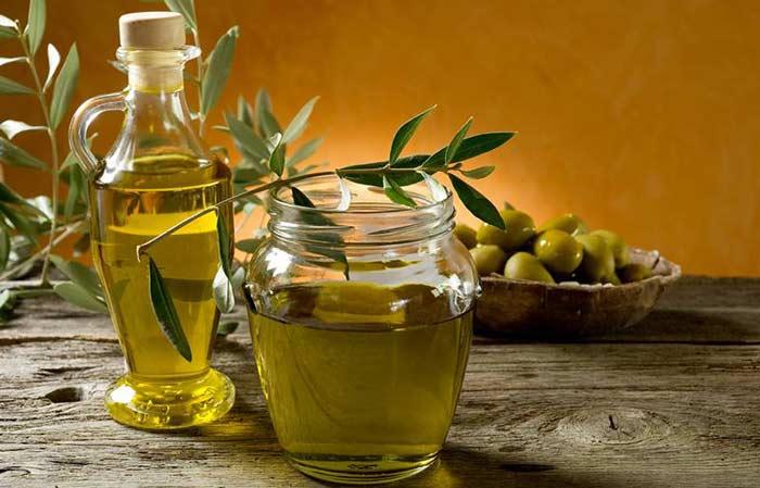 Масло из зеленых оливок