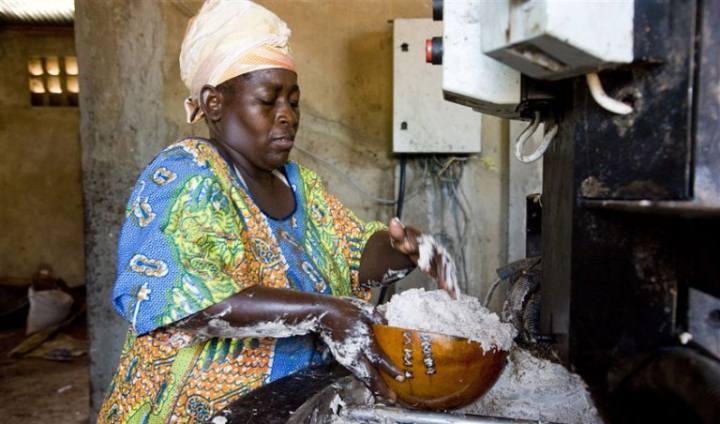 Жительница Буркина-Фасо