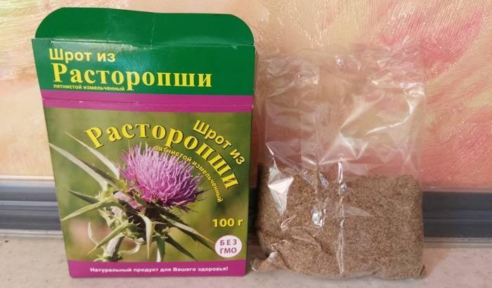 Расторопша - лечебные свойства, противопоказания и правила применения для чистки печени
