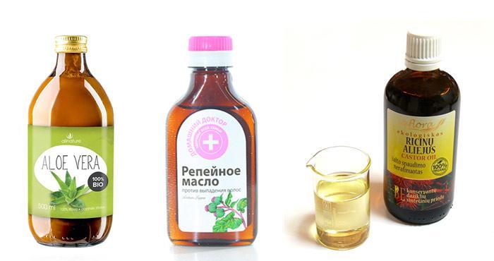 Касторовое масло с репейным