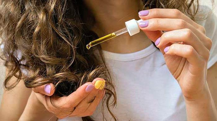 Масло кунжута для волос