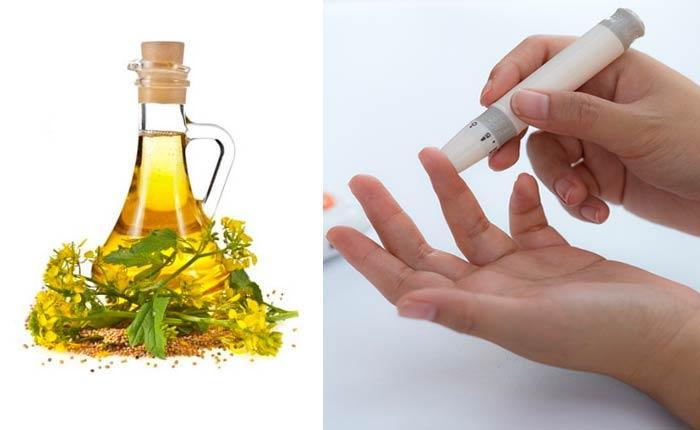 Горчичное масло при диабете