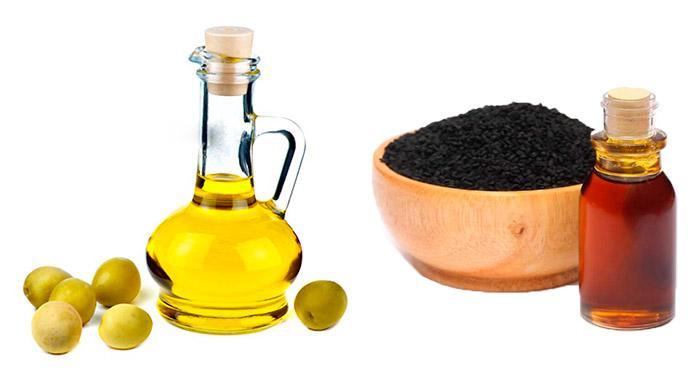 Оливковое и тминное масло