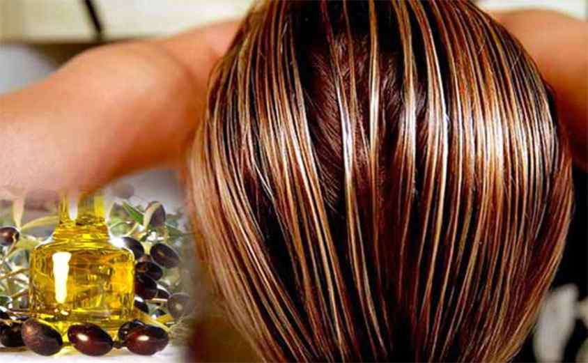 Обработка волос маслом
