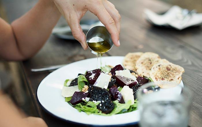Кедровое масло для салата