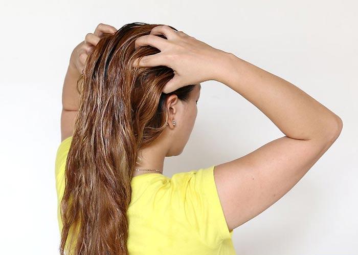 Укрепление волос маслом