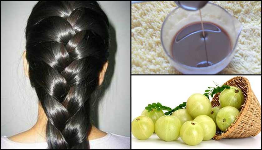 Масло амлы ускоряет рост волос