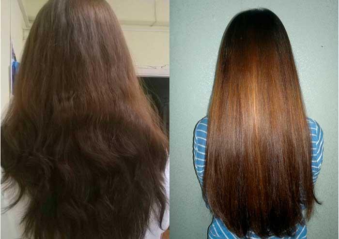 Применение кокосового масла для волос